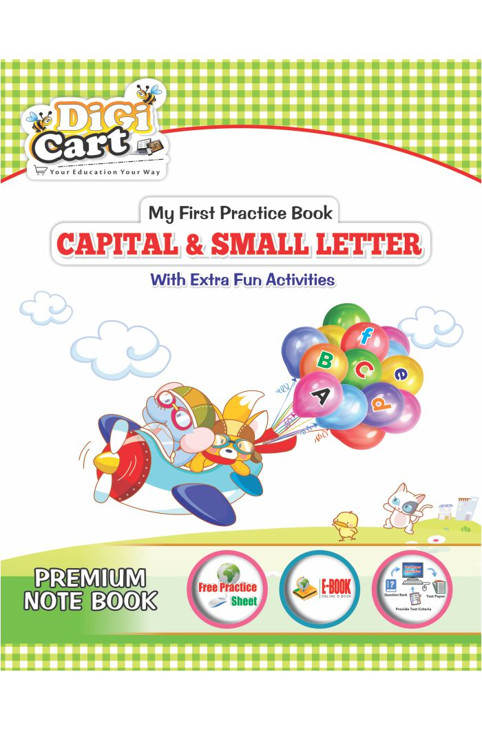 Note Book Capital & Small Letters (Digi Cart)